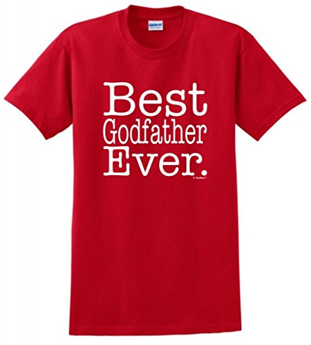 Best Godfather Ever T-Shirt 3Xl Red front-961461