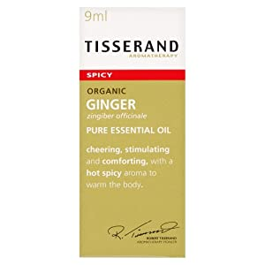 Tisserand Ginger Organic Essential Oil 9 ml