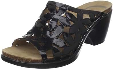 Dansko Women's Clarissa Sandal,Black Patent,37 EU / 6.5-7 B(M) US