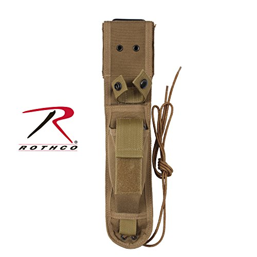 Rothco Enhanced Nylon Knife Sheath, COYOTE Size