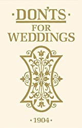Don'ts for Weddings