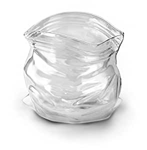 Fred and Friends UNZIPPED Hand-Blown Glass Bowl