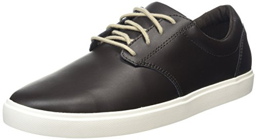 Crocs Citilane Leather Lace-Up M, Sneaker a Collo Basso Uomo, Marrone, 41/42 EU
