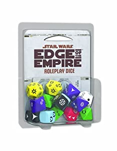 Star Wars Edge of The Empire RPG Dice