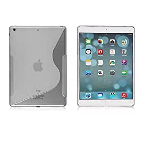 Clear Soft TPU Silicone Gel Rubber Clear Matte Case For Apple ipad Air ipad 5 2013