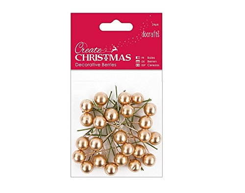 24-gold-holly-berries-for-christmas-crafts