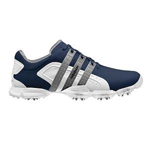 Adidas Powerband 4.0 Golf Shoes Navy/White/Metallic Silver Medium 12.5