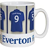 Personalised Everton Football Club Dressing Room Mug ..