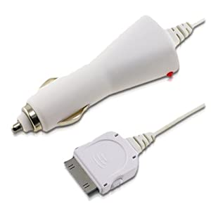 iPhone and iPod Car Charger and Cassette Adapter