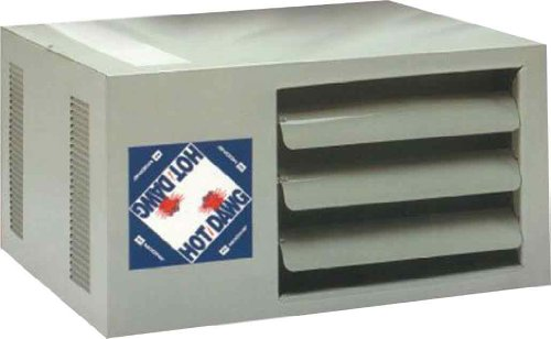 Modine HD45AS0111Natural Gas Hot Dawg Garage Heater 45,000 BTU with 80-Percent Efficiency (Shop Heater Gas compare prices)
