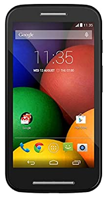 Motorola Moto E - Global GSM - Unlocked - 4GB (Black)