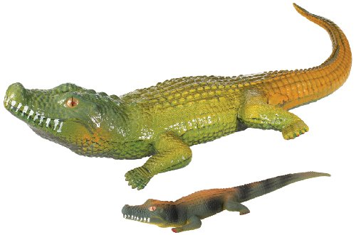 Toysmith Ginormous Grow Crocodile, Assorted Colors
