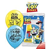 ShindigZ 12 inch Printed Latex Balloons 6-Pack - Toy Story 3