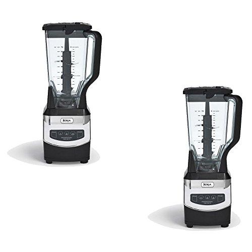 Ninja72-oz Black 3-Speed 1000-Watt Pulse Control Blender NJ600 Set of 2 Gift Bundle