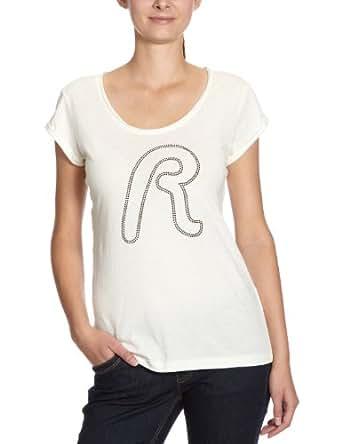 Replay - T-Shirt - Femme - Blanc - L