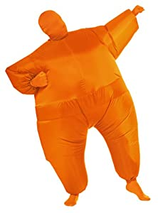 Rubie's Costume Inflatable Full Body Suit Costume, Orange, One Size