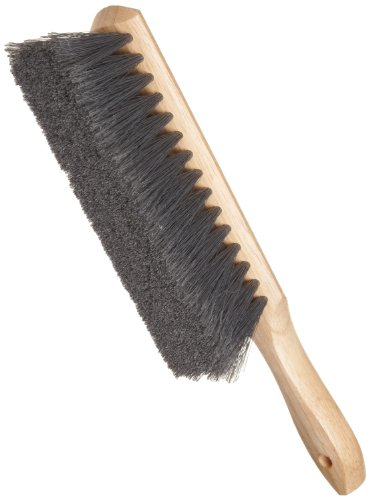 weiler-44354-counter-duster-flagged-silver-polystyrene-fill-wood-block-8-brush-length