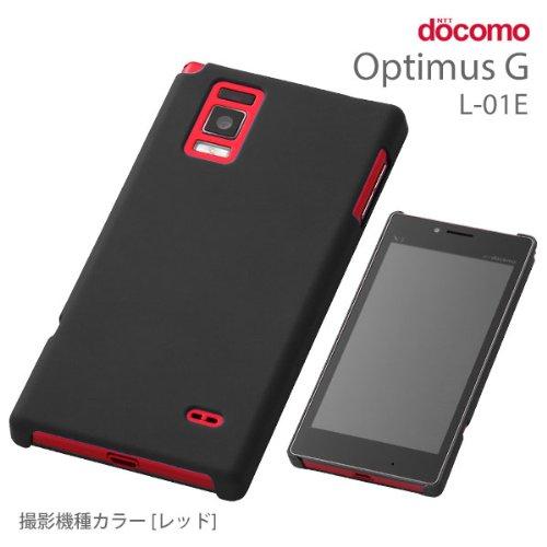 レイ・アウト Optimus G L-01E/LGL21 ラバーコーティングジャケット RT-L01EC4/B