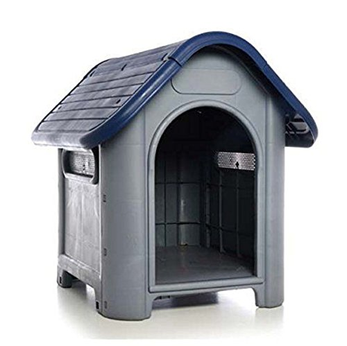 Outdoor Dog House Small Large Small to Medium Pet All Weather Doghouse Puppy Shelter NIB (Elevated Dog House compare prices)