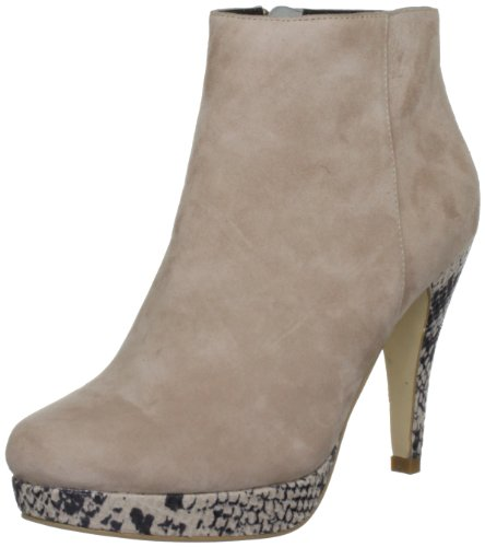 Dollybird Women's Pipper Nude Booties Heels 12Dbw030 3 UK, 36 EU