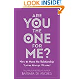 Books: Are You the 1 for Me? by Barbara de Angelis: cover