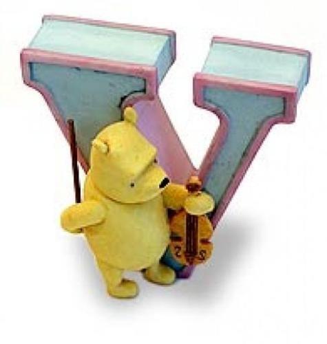 Pooh's Alphabet Letter V - 1