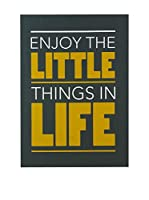 Really Nice Things Lienzo Enjoy Little Things Naranja