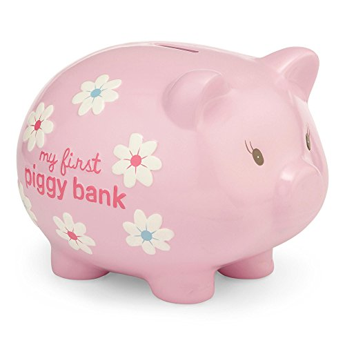 Carter's Smiley Happy Piggy Bank, Pink
