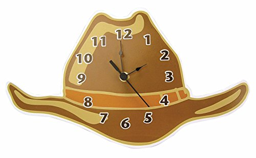 Trend Lab Wall Clock, Cowboy Hat