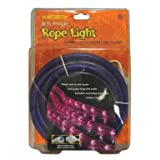 Celebrations Halloween Indoor/Outdoor Rope Lights 18′,Purple for $14.99 + Shipping