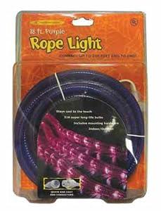 Indoor/Outdoor Rope Lights 18',Purple