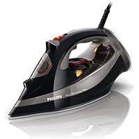 Philips GC4521/87 Azur Performer Steam Iron - 200g Steam Boost, Safety Auto Off, 2600 Watt, Black