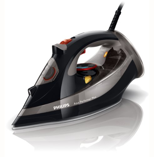 Philips GC4521/87 Azur Performer Steam Iron - 200g Steam Boost, Safety Auto Off, 2600 Watt, Black