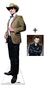 *FAN PACK* - THE 11TH DOCTOR STETSON COWBOY HAT (MATT SMITH) - BBC DOCTOR WHO / DR WHO / DR. WHO - LIFESIZE CARDBOARD CUTOUT (STANDEE / STANDUP) - INCLUDES 8X10 (25X20CM) STAR PHOTO - FAN PACK #195