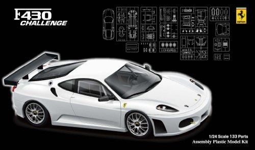 Specifications 1/24 Real Sports Car Series No.72 Ferrari F430 Challenge Race [Japan Imports]