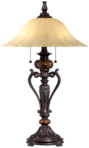 Kathy Ireland Amor Collection 26″ High Accent Table Lamp