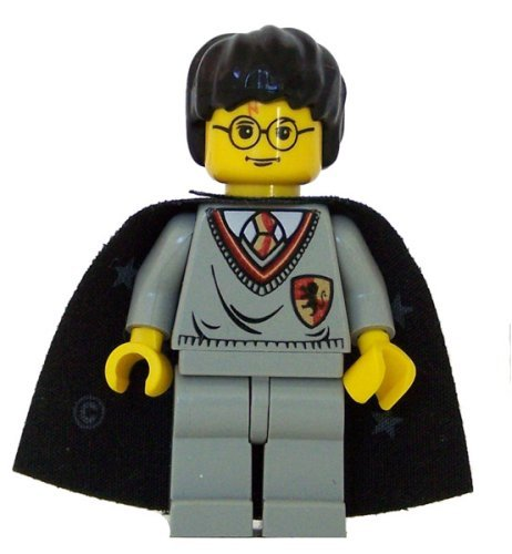 Harry Potter (Gryffindor Shield Torso, Cape, YF) - LEGO Harry Potter Figure