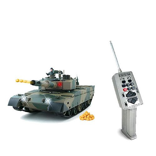Abrams RC Battle Tank