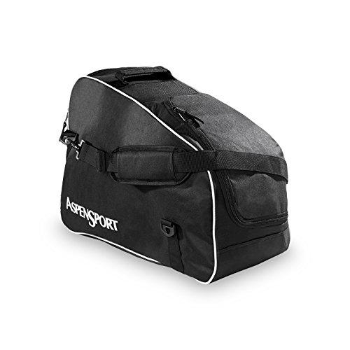 AspenSport Skischuhe und Helmtasche, schwarz, 53 x 26 x 39 cm, 53 Liter, AS152016