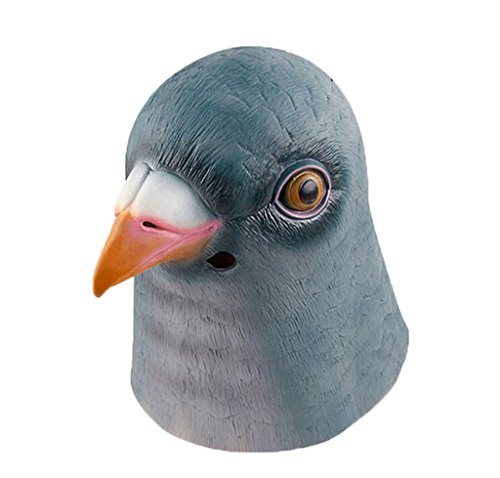 Pigeon head mask for Halloween Costume Make-up Party Decoration Latex Mask with high quality