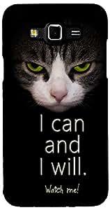Printvisa Quotes Attitude Case Cover for Samsung Galaxy Grand 3 (2D-GR3-D8058)
