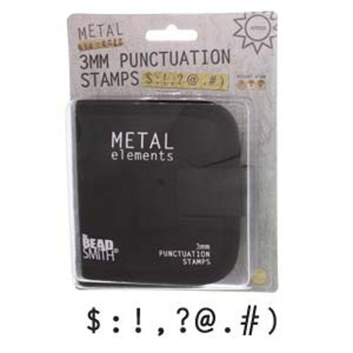 Punctuation Stamps w/Canvas Case (3.0mm) 9pc - LPSPU30