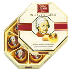 [オーストリアお土産]モーツァルト クーゲルチョコレート 1箱