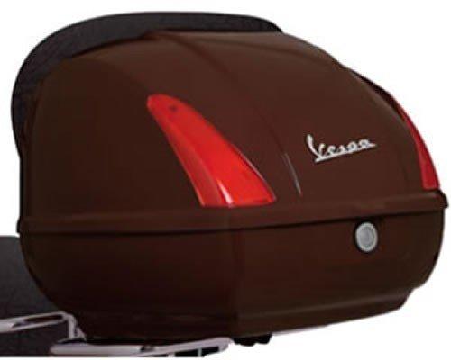 Original Vespa Topcase für Roller GTS , Farben:Braun Terra di Toscana 112/A