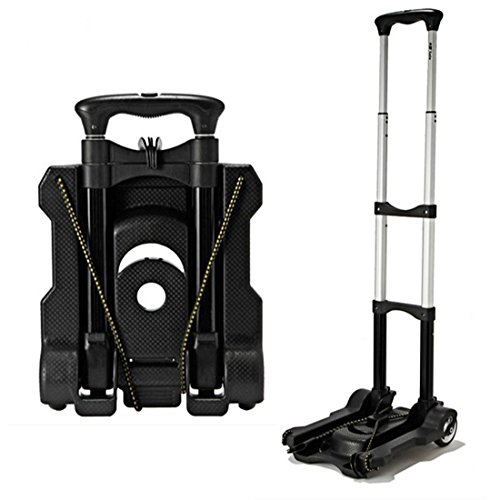 Aluminum Portable Foldable Outdoor Travel Shopping Cart Supermarket Luggage Trolley,40 kg (Package Cart compare prices)