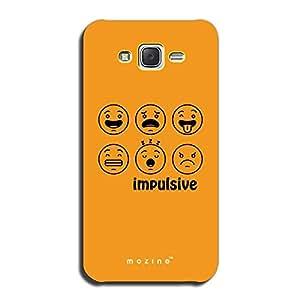 Mozine Impulsive printed mobile back cover for Samsung galaxy j7