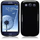 Samsung i9300 Galaxy S3 TPU Gel Skin Case / Cover - Solid Black PART OF THE QUBITS ACCESSORIES RANGEby TERRAPIN