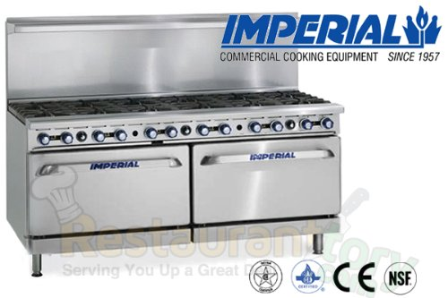 Imperial-Commercial-Restaurant-Range-72-With-12-Step-Up-Burners-2-Standard-Ovens-Nat-Gas-Ir-12-Su