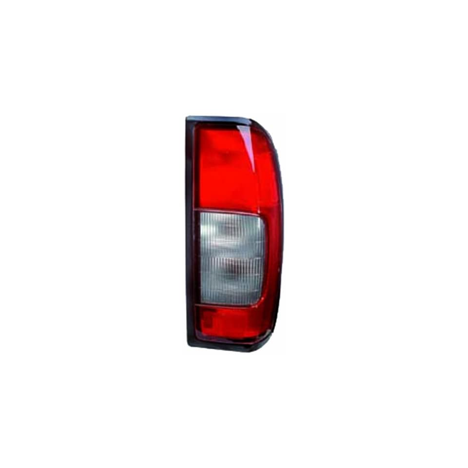 IPCW 11 5073 90B Nissan Frontier Passenger Side Red/Clear Plastic OEM Replacement Tail Light Assembly