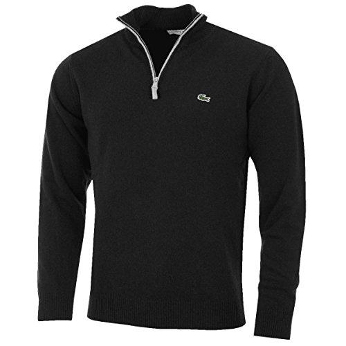 lacoste-2016-mens-ah2988-1-2-zip-high-collar-sweater-black-size-7-2xl